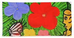 Garden Of Life Bath Towel