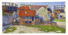 Gasometers At Clichy - Digital Remastered Edition Hand Towel