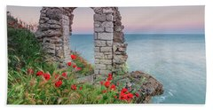 Gate In The Poppies Bath Towel