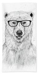 Geek Bear Hand Towel