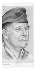 General Chuck Horner Hand Towel