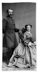 General Custer And His Wife Libbie Bath Towel