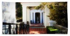 Getty Exterior Landscape Architecture  Bath Towel