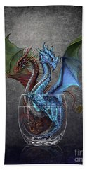 Gin And Tonic Dragon Bath Towel
