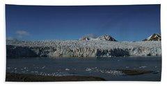 Glacier Svalbard Hand Towel