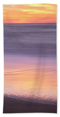 Hand Towel featuring the photograph Gleneden Beach Sunset by Whitney Goodey