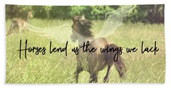 Go Flying Quote Hand Towel