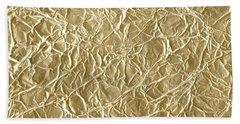 Gold Cute Gift Bath Towel