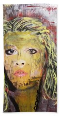 Gold Dust Woman Hand Towel