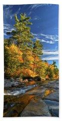 Golden Autumn Light Nh Bath Towel