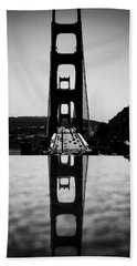 Golden Gate Reflection Hand Towel