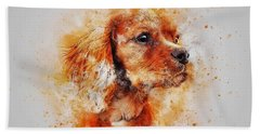 Dachshund Bath Towel