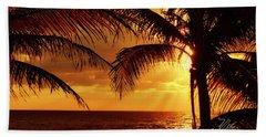 Golden Sunrise Hand Towel
