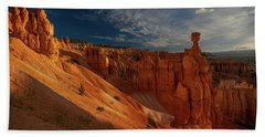 Bath Towel featuring the photograph Good Morning Bryce by Edgars Erglis