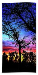 Good Night Leaves In Fall Hand Towel