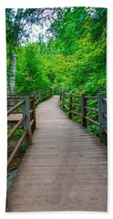 Gooseberry River Trail Hand Towel