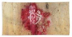 Grafitti Heart Bath Towel