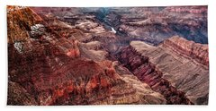 Grand Canyon Winter Sunset Hand Towel