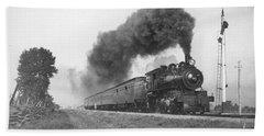 Grand Trunk Railway Steam Train 1904 Bath Towel