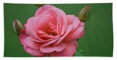 Grandiflora Rose - Rosa Baisme Bath Towel
