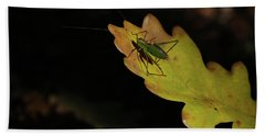 Grasshopper Bath Towel