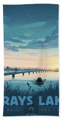 Grays Lake Bath Towel