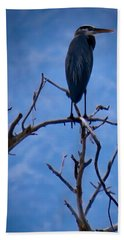 Great Blue Heron 3 Hand Towel