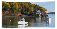 Great Diamond Island Maine Hand Towel