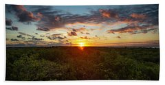 Great Exuma Sunrise Hand Towel