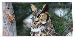Great Horned Owl 5151801 Bath Towel