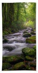 Great Smoky Mountains Gatlinburg Tennessee Hand Towel