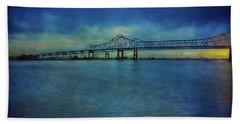 Greater New Orleans Bridge Hand Towel