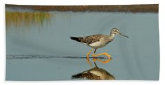 Greater Yellowlegs  Bath Towel