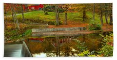 Green River Village Fall Reflections Hand Towel