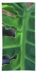 Green Space Hand Towel