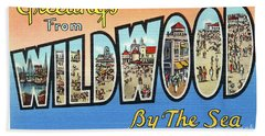 Wildwood Greetings - Version 4 Hand Towel