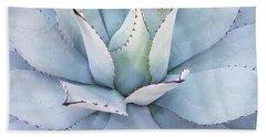 Grey Cactus Bath Towel
