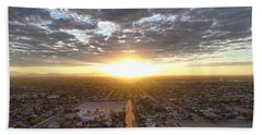 Guadalupe Sunset Hand Towel