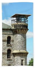 Guards Tower At Ohio State Reformatory Mansfield Ohio  1433  Bath Towel