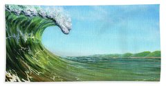 Gulf Of Mexico Surf Hand Towel