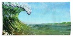 Gulf Of Mexico Surf Bath Towel
