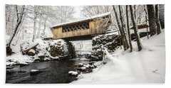 Gunstock Brook And Tannery Hill Bridge Hand Towel