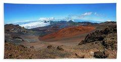 Haleakala Crater Panoramic Bath Towel