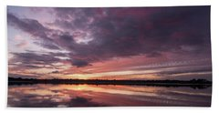 Halifax River Sunset Hand Towel