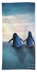 Happy Feet Hand Towel