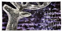 Happy Holiday Sparkle Bath Towel