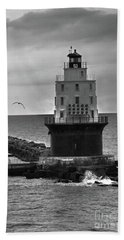Harbor Of Refuge Lighthouse Bnw Bath Towel