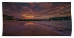 Harbour Sunset - St Ives Cornwall Bath Towel