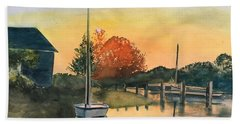 Harthaven Harbor, Mv Bath Towel