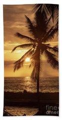 Hawaii Sunset Bath Towel